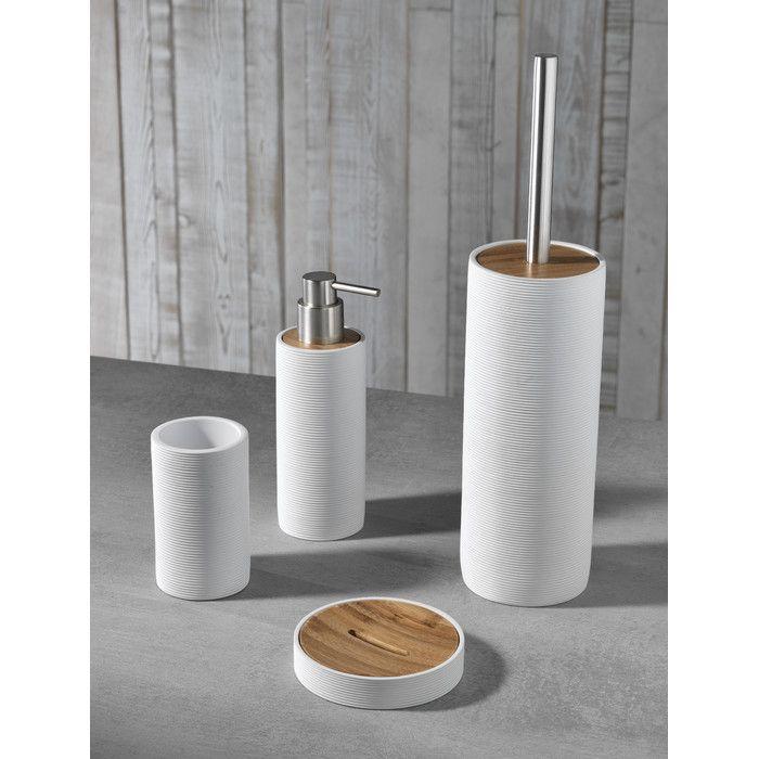 Earle 4-Piece Bathroom Accessory Set in 2020 | Bathroom ...