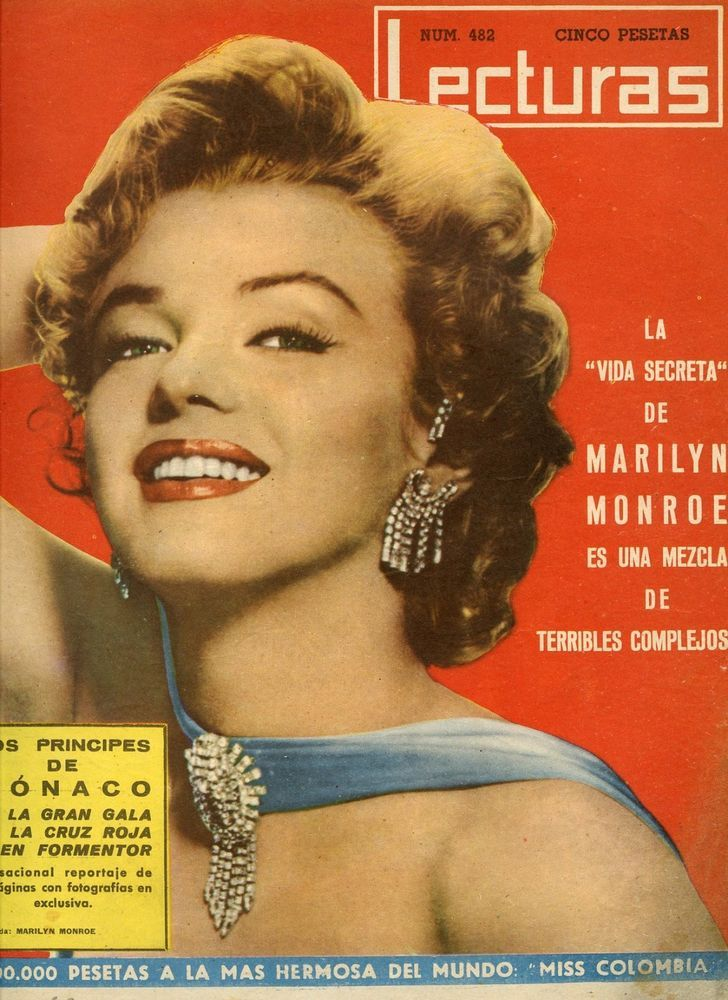 Marilyn Monroe Lecturas September 1st 1960 Magazine From Spain