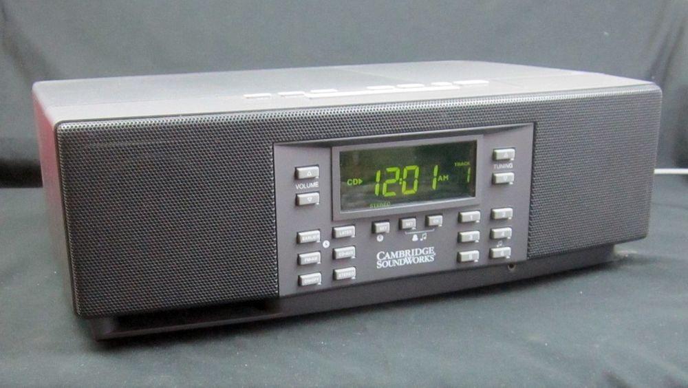 cambridge soundworks gray model 88cd am fm cd dual alarm clock aux rh pinterest com Cambridge SoundWorks PC Works Cambridge SoundWorks Speakers