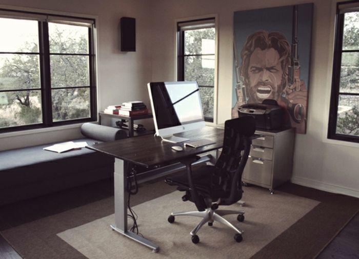 Kleines Arbeitszimmer ~ Schönes design schreibtisch und rollstuhl kleines büro