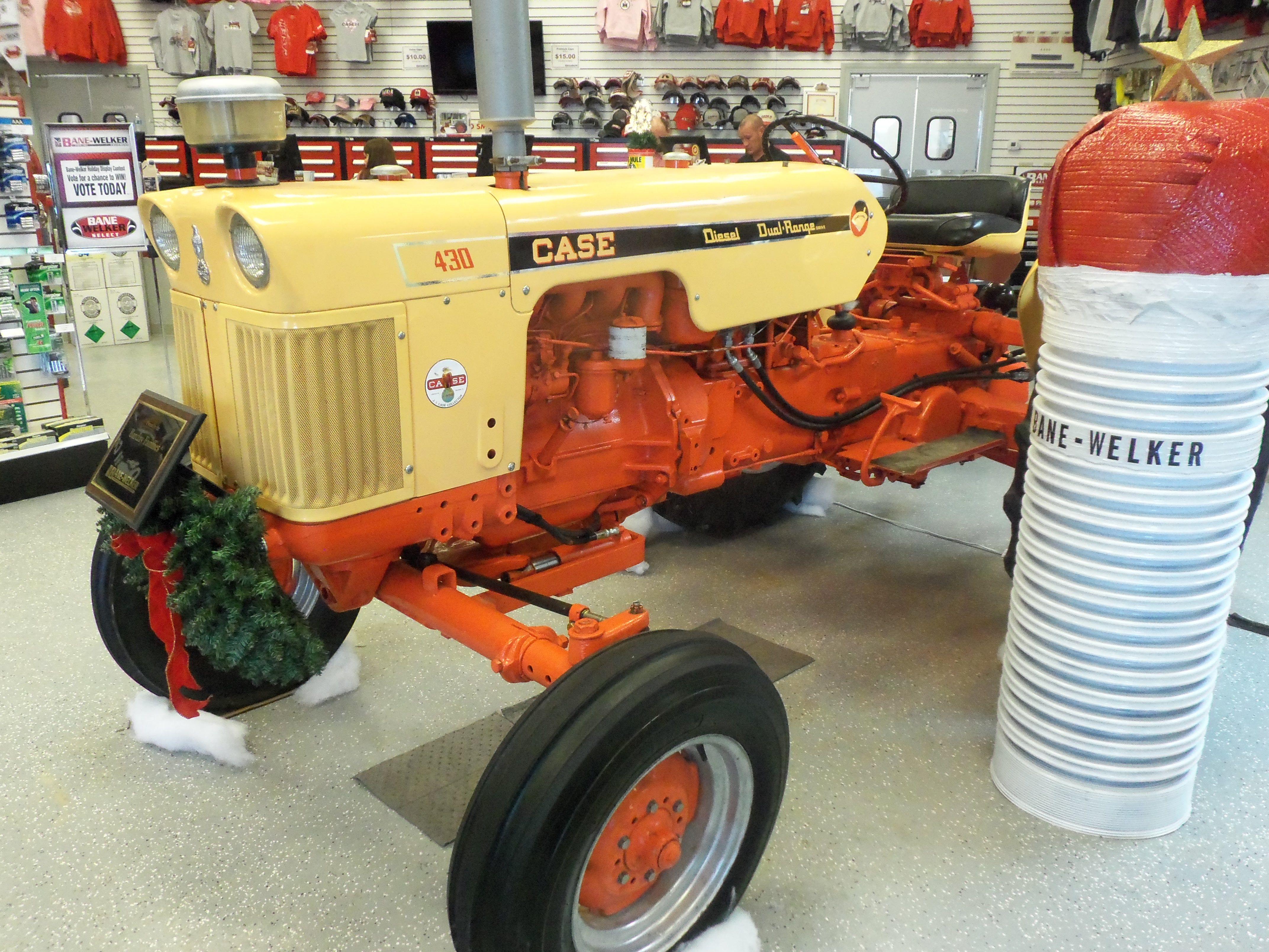 Case 430 Tractor Case Tractors Farm Toy Display Old Tractors