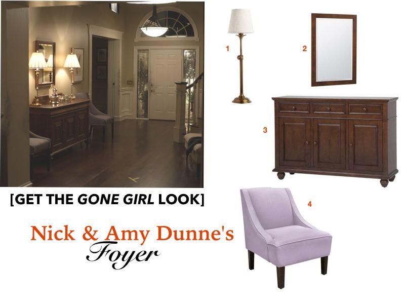 Gone Home Foyer : Gone girl movie set house home decor nick amy dunne foyer