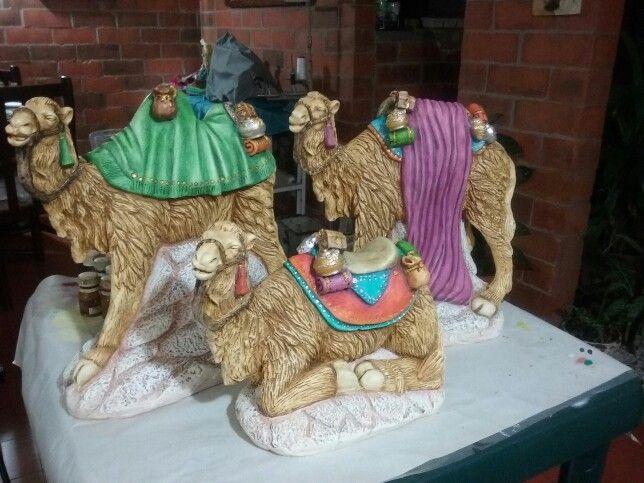 Pesebre camellos | Decoracion navideña | Pinterest | Pesebre ...