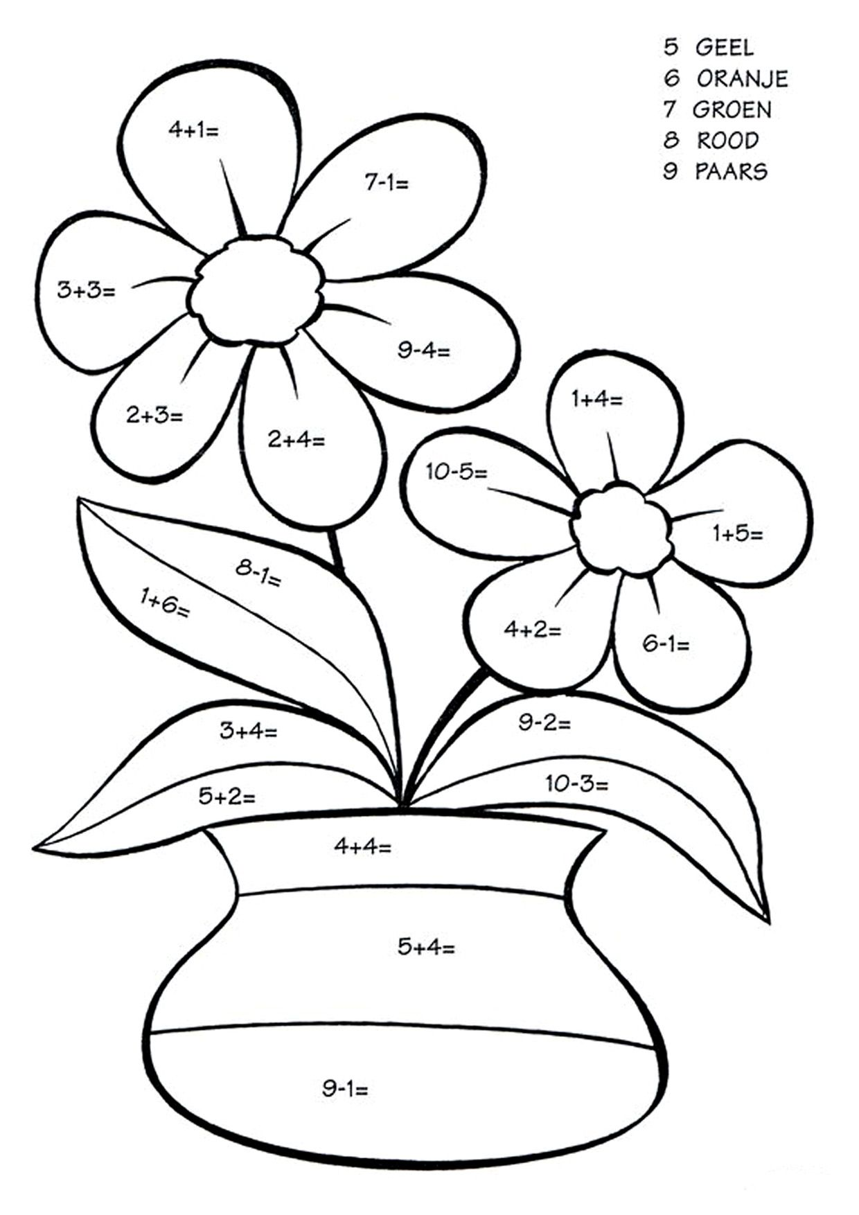 Https S3 Eu Central 1 Amazonaws Com Img Sovenok Co Uk Flowers Maths Colour Maths Colour Flower 0 Math Activities Preschool Math Coloring Kids Math Worksheets [ 1754 x 1240 Pixel ]