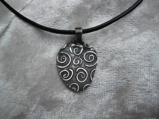 Pin auf Metal Clay Uniques Silberschmuck, Kupfer und Bronze