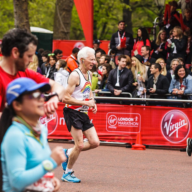 Georgia takes on the virgin money london marathon