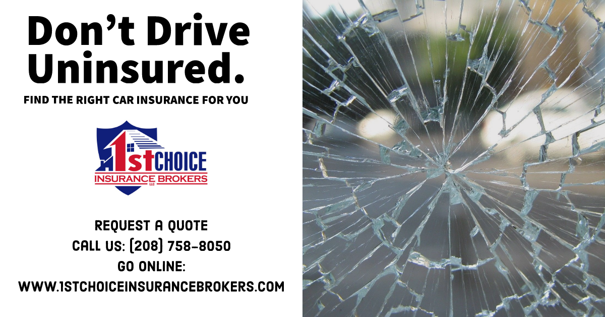 Don't drive uninsured! Give us a like