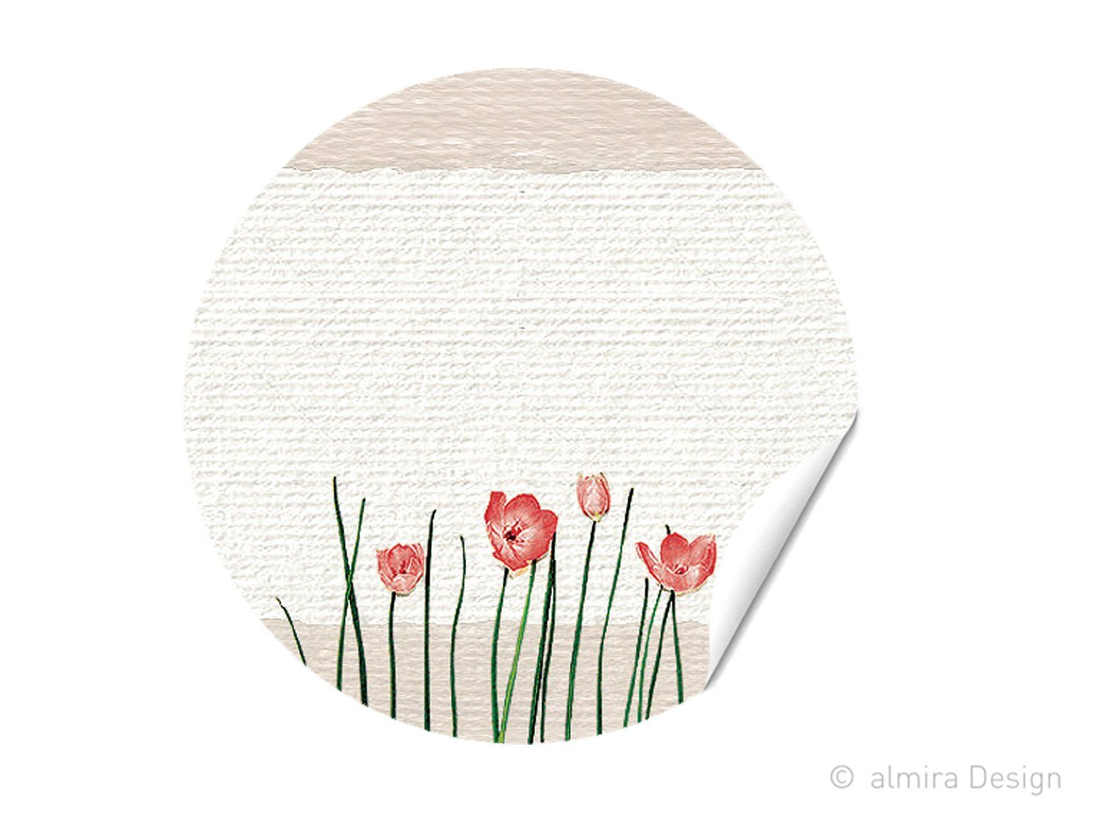 Stickers Flower Meadow Stickers To Label Labels Gift