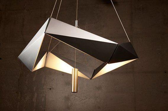 2019的 Futuristic Interior Design 20 Polygonal And
