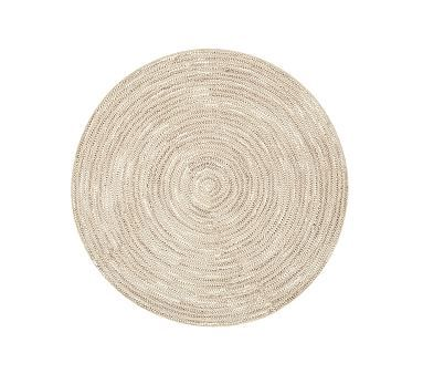 Round Mercer Rug Rugs Pottery Barn Kids Playroom