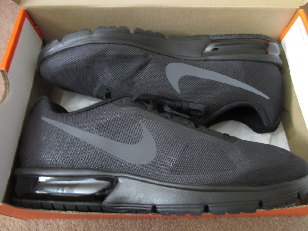 Nike Air Max Sequent Mens Running Shoes 13 Black Dark Grey 719912 020