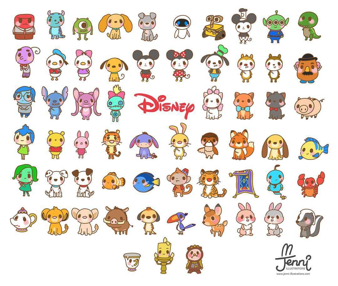 Finished Chibi Disney Part.26 ❤ (266➡26!!!!) I finally drew 26