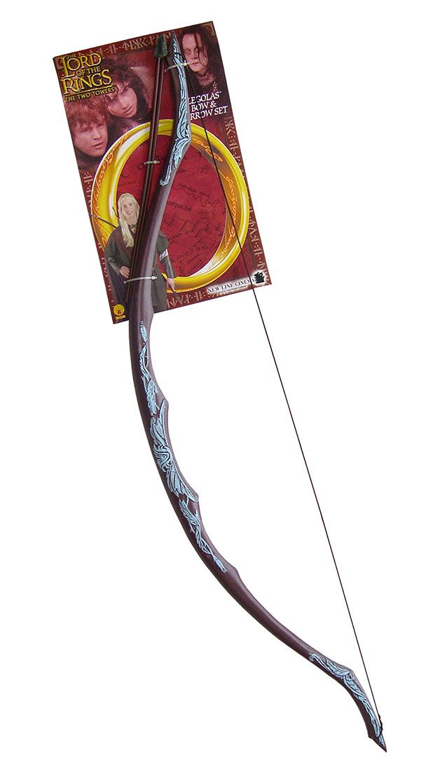 Kids Legolas Costume Bow & Arrows - Lord of the Rings ...
