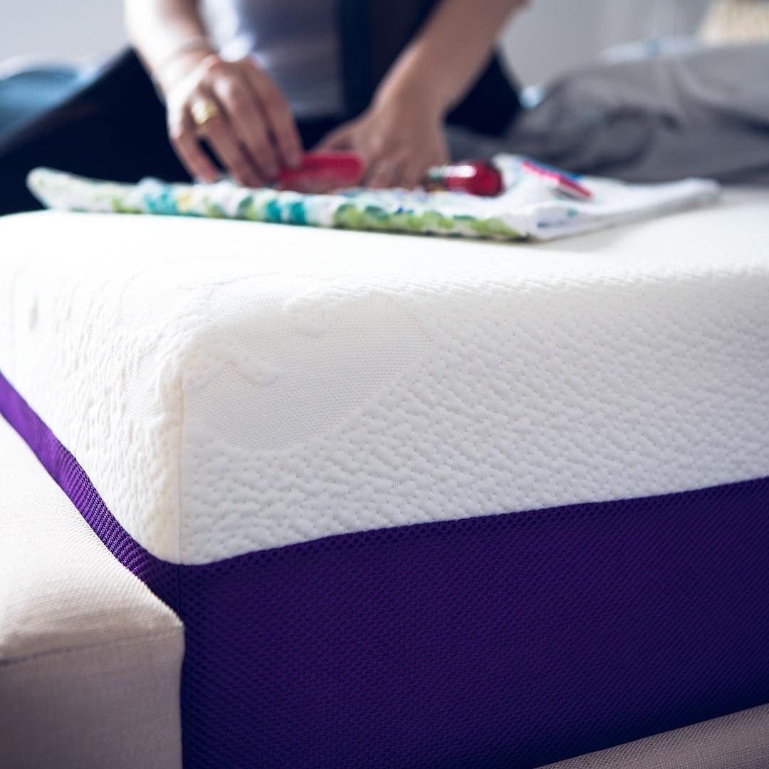 The Polysleep Mattress Is Made Of A Ventilated Viscoelastic Hybrid Foam Le Matelas