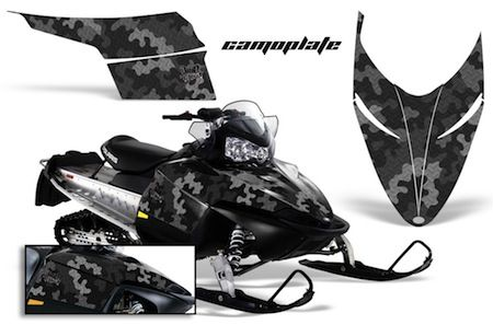 Proven Design Products | Polaris IQ Snowmobile SLED WRAPS
