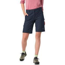 Photo of Jack Wolfskin softshell shorts women Activate Track Shorts Women 40 blue Jack Wolfskin
