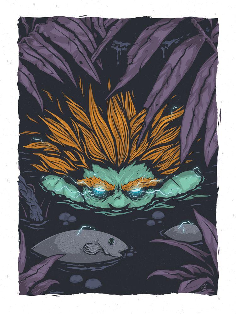 Blanka, The Apex Predator byJorge Tirado/ Tumblr