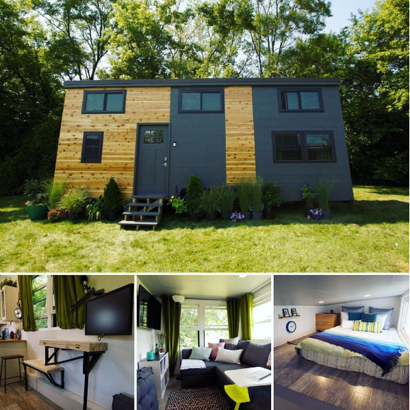 agreeable tiny house portland oregon. Stylish tiny house made from timber and black metal cladding  Love the cluster of pot Tiny House Movement Could You Do It Metal