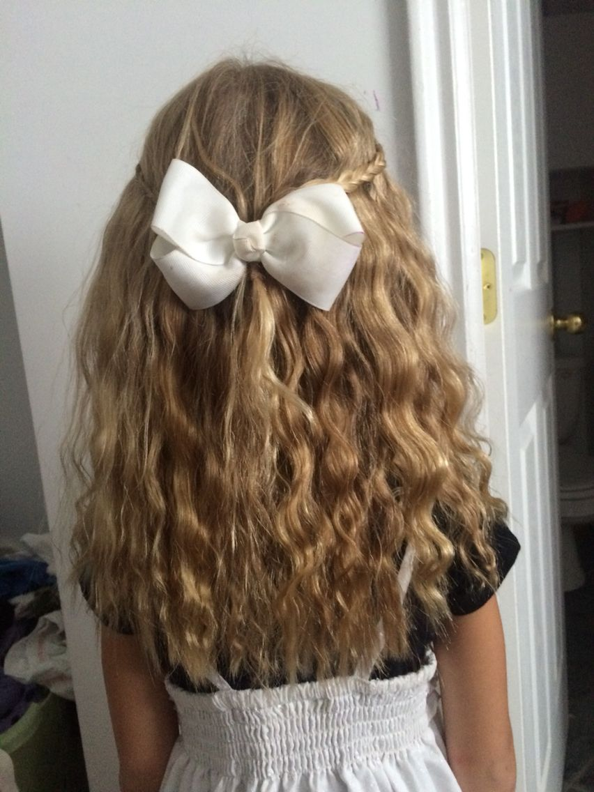 Cute Hairstyle I Did On My Little Sister Hairstyles Pinterest