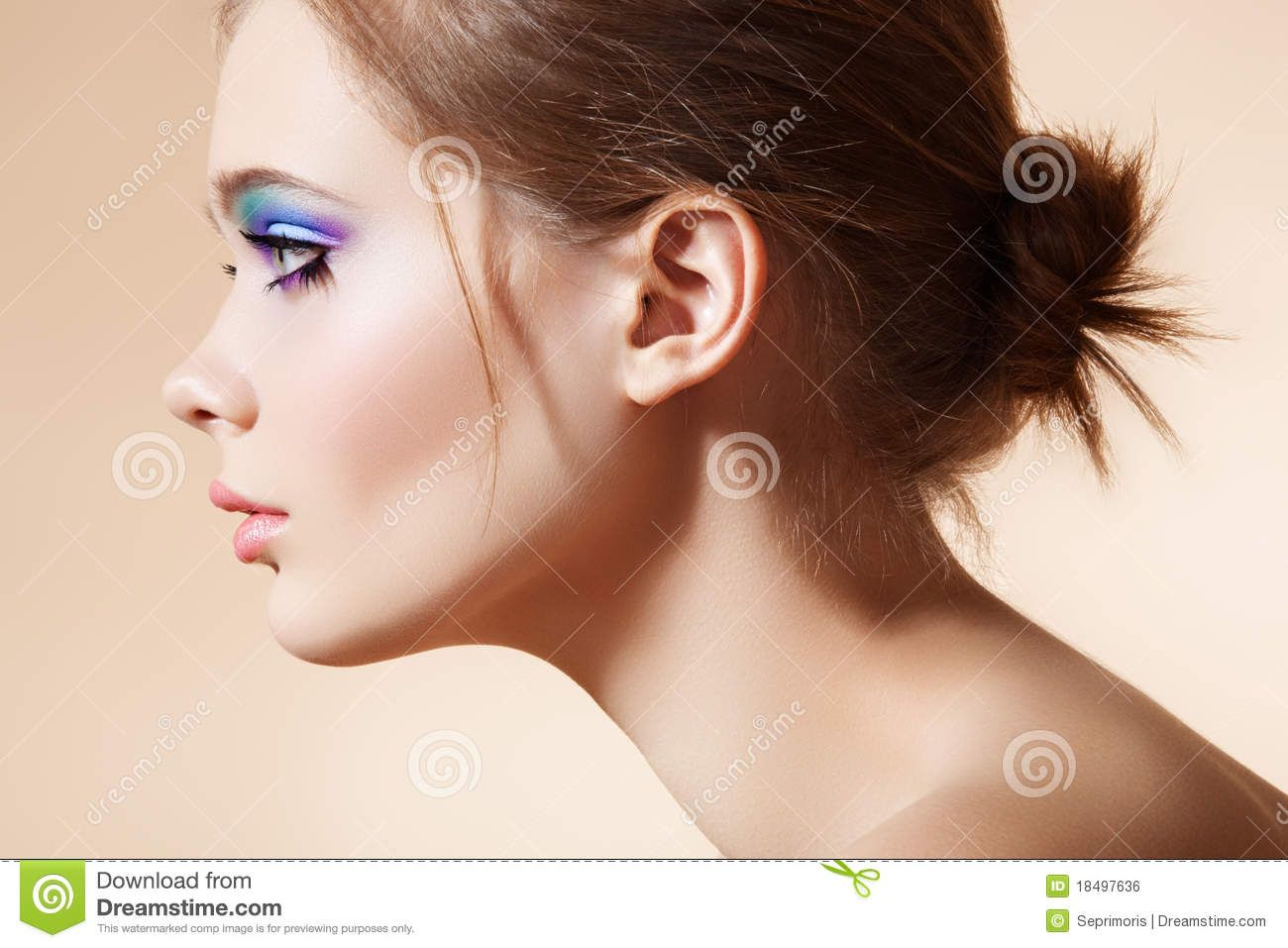 female side portrait - Google Search | Female Face Proportions ...