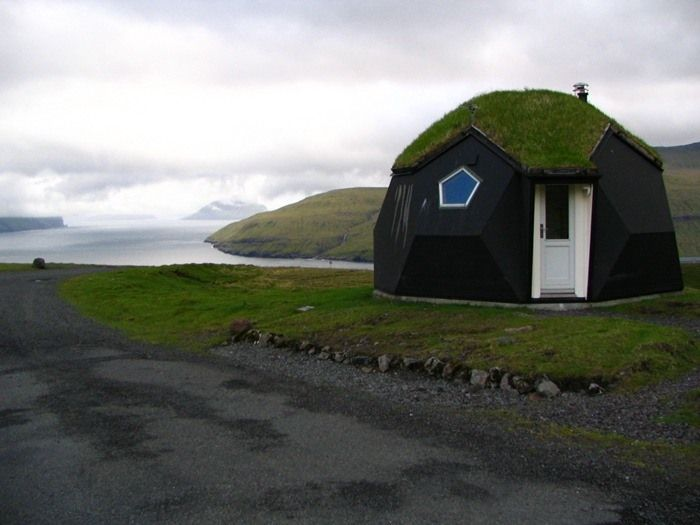 Island of Vagar on Faroe Islands, Denmark