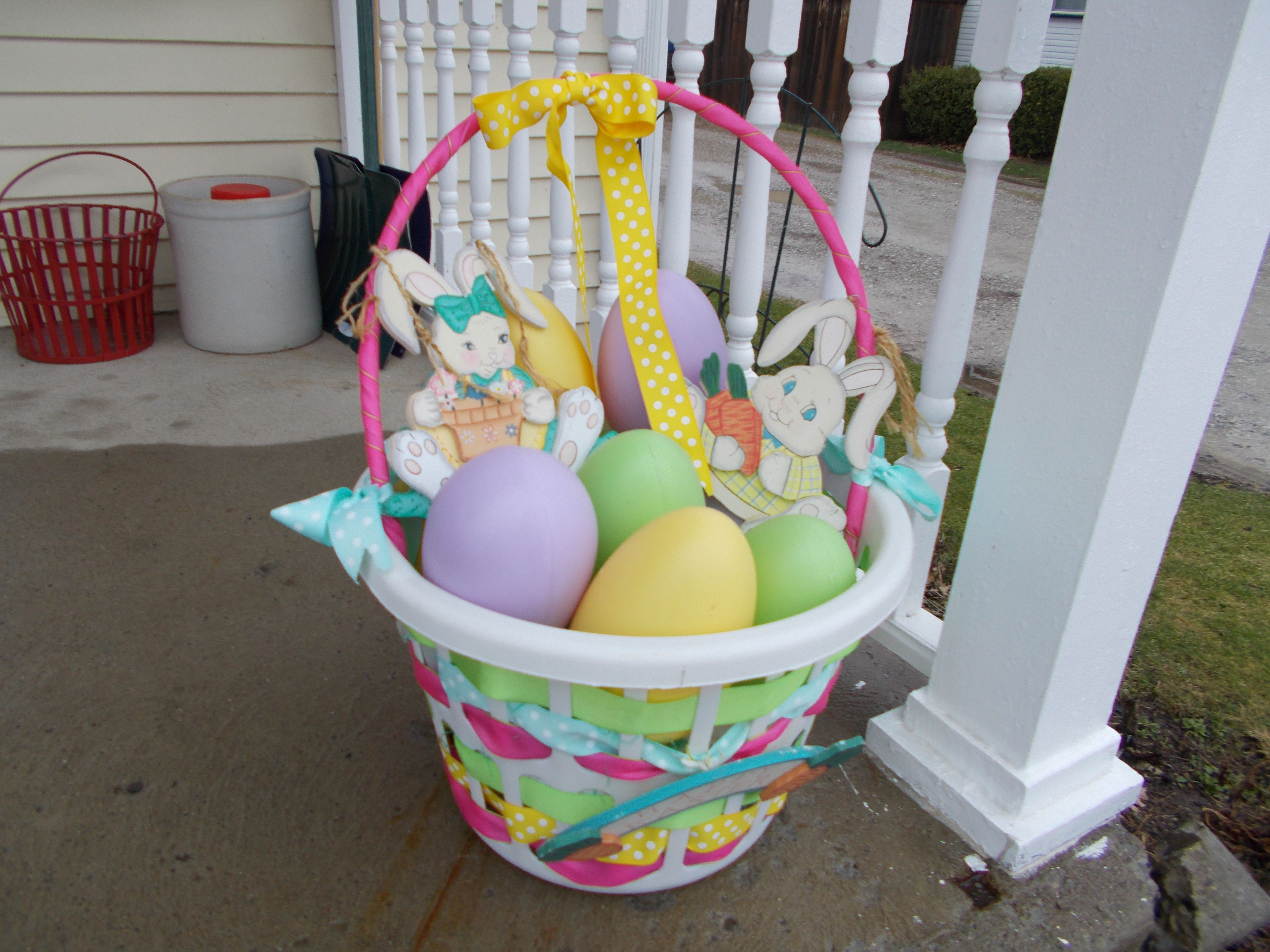 Related to Easter decorations Easter eggs Easter decorations Easter basket spring decor