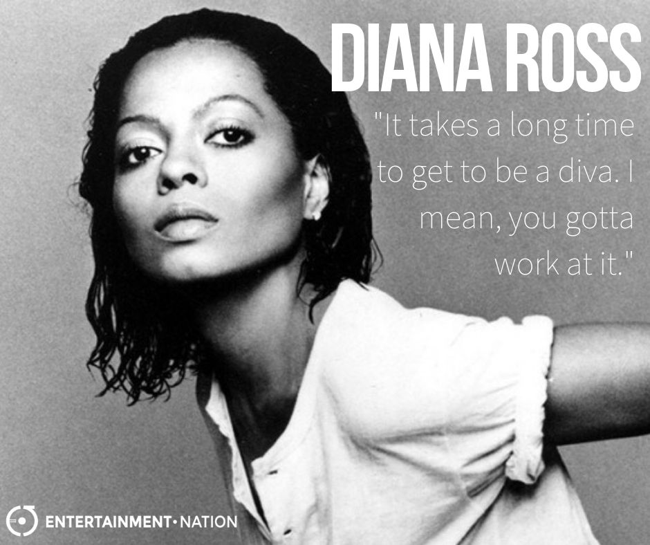 Diana Ross Quote. #dianaross #inspiring #inspirational #motivation