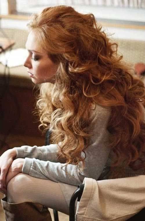 15 Long Strawberry Blonde Hair Curly Hair Styles Long