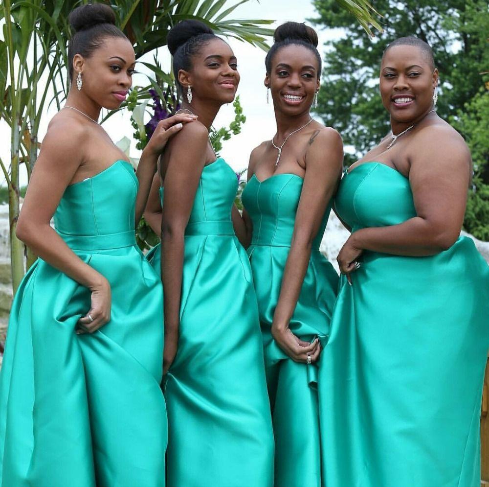 Lovely green taffeta bridesmaid gown navy bluepeachivory bridesmaid ombrellifo Gallery