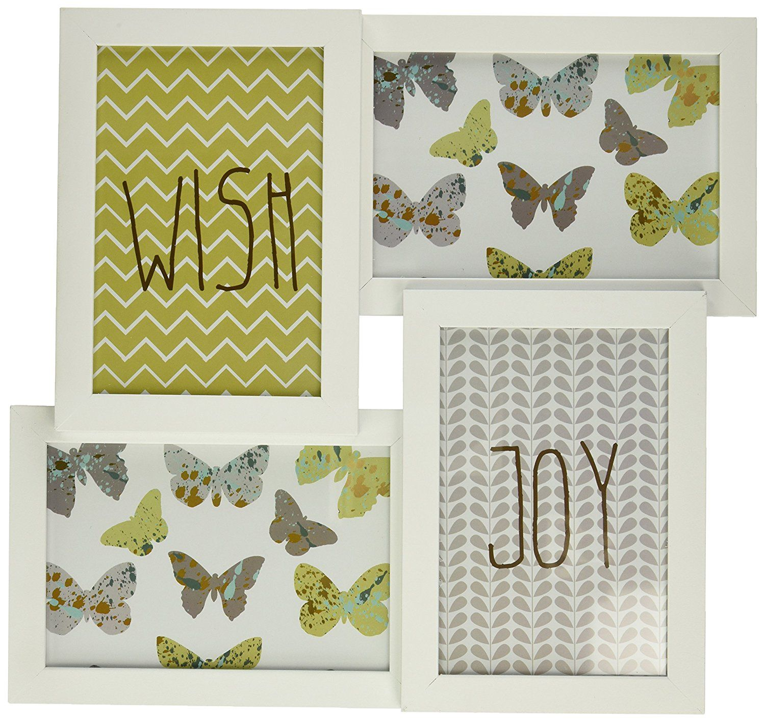 Wf981 Collage Photo Frame for 4 Photos (white) >>> Read more reviews ...