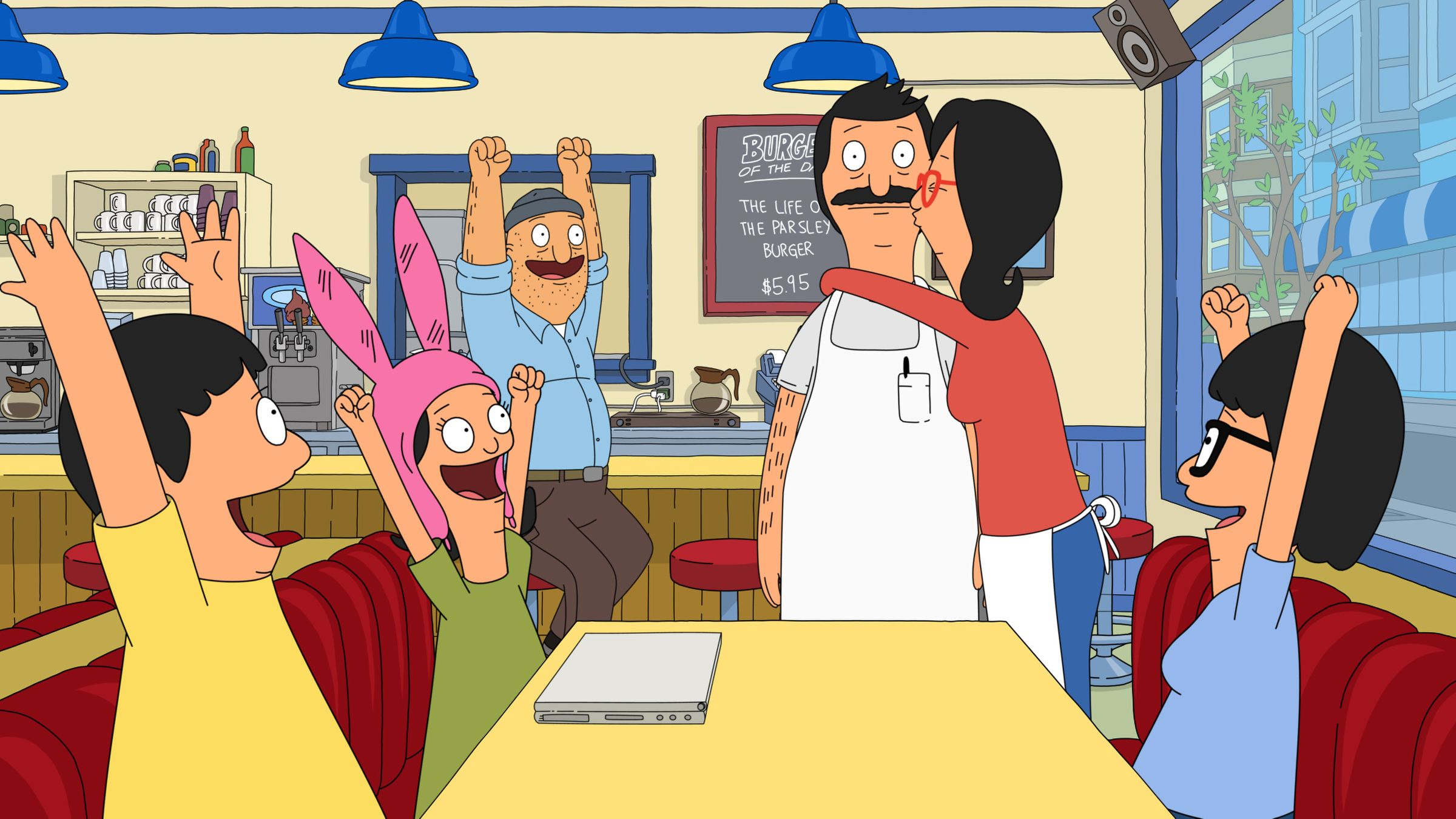 get on their level! the belchers return to the boob-tube this sunday