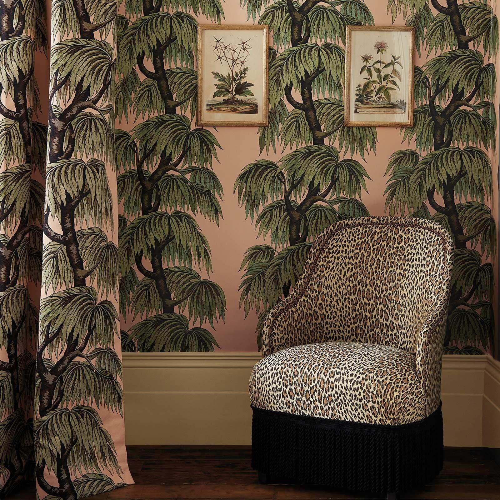 BABYLON Wallpaper Blush Willow House of hackney