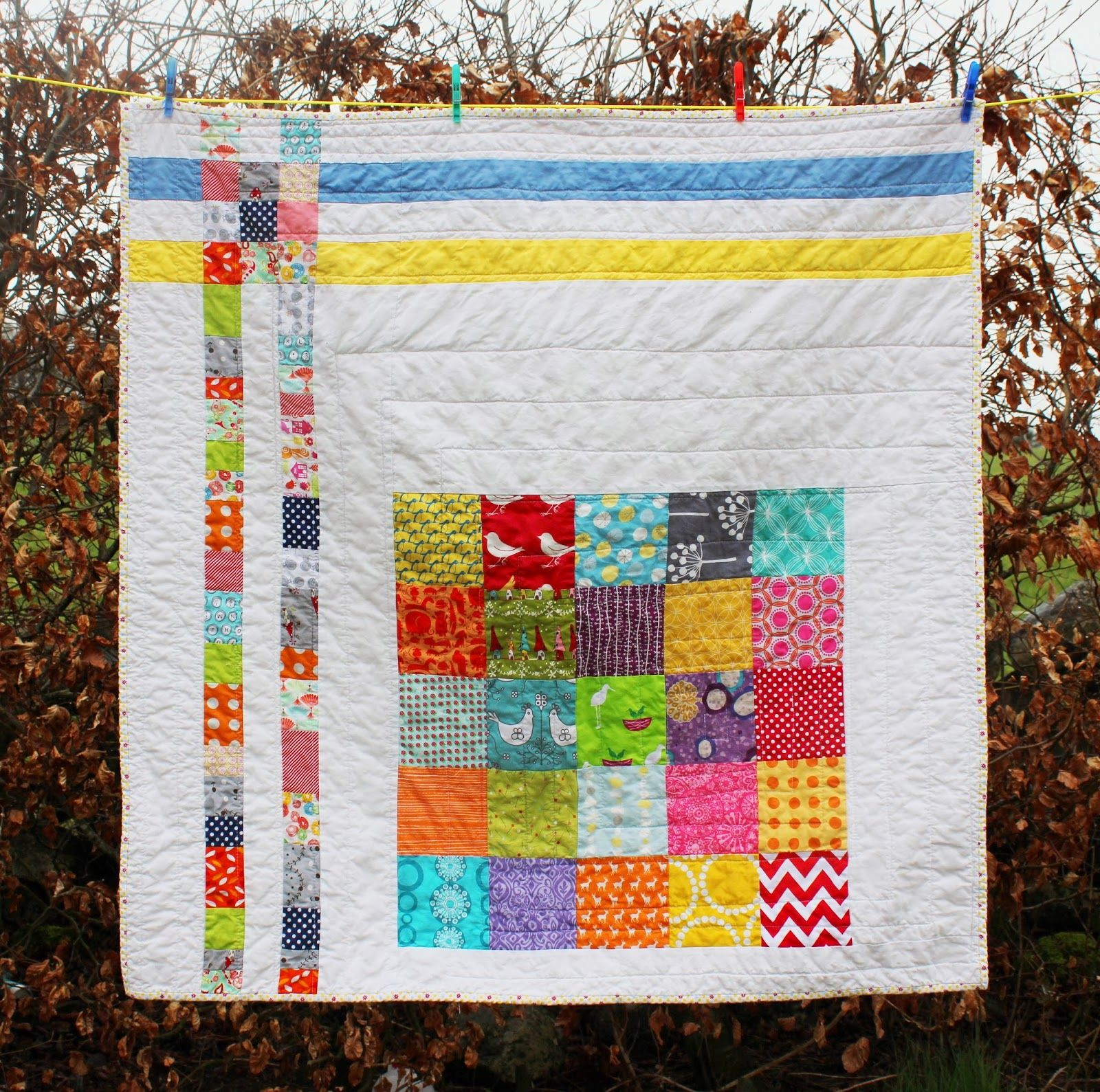 Mexico City Donation Quilt: Finished! | How to finish a ...