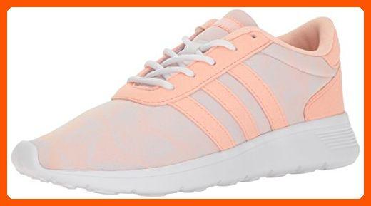 hot sale online 93a0a 11788 adidas NEO Womens Lite Racer W Running Shoe, Haze CoralHaze CoralWhite