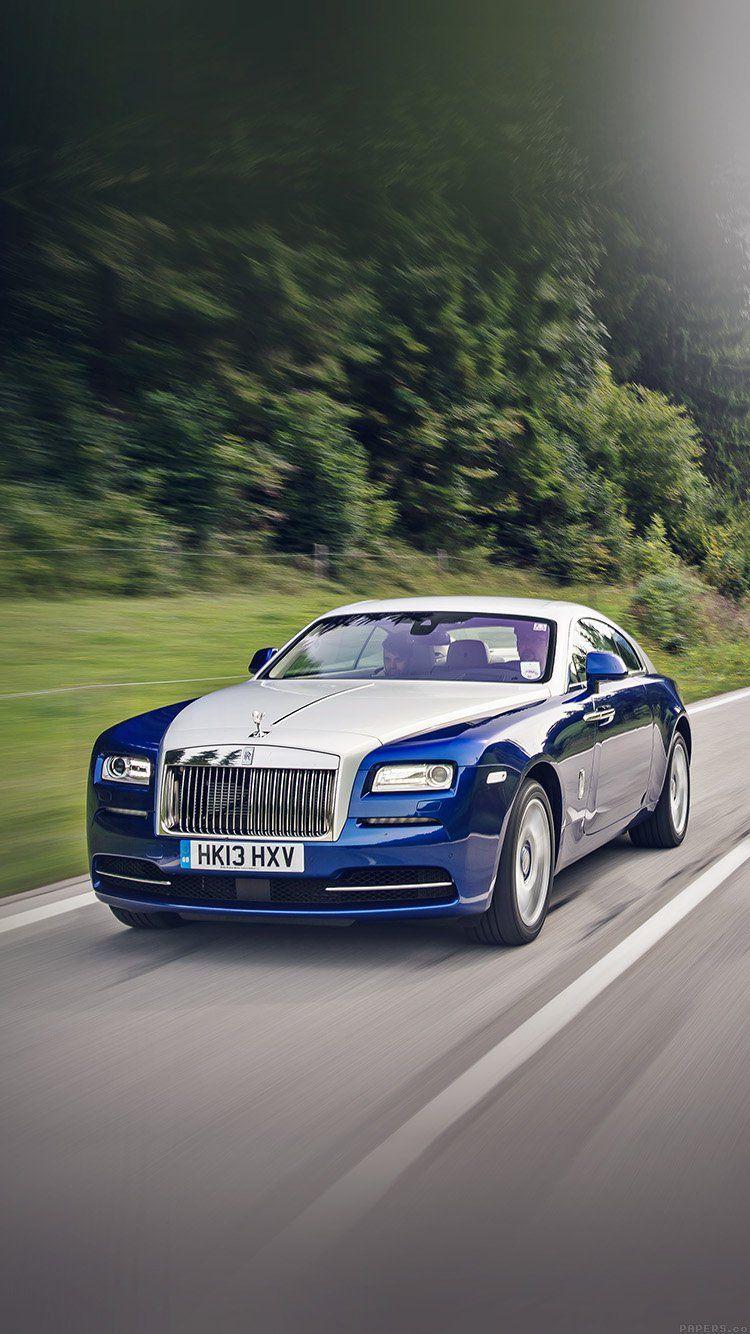 Bentley Blue Drive Car Wallpaper Hd Iphone Car Rolls Royce