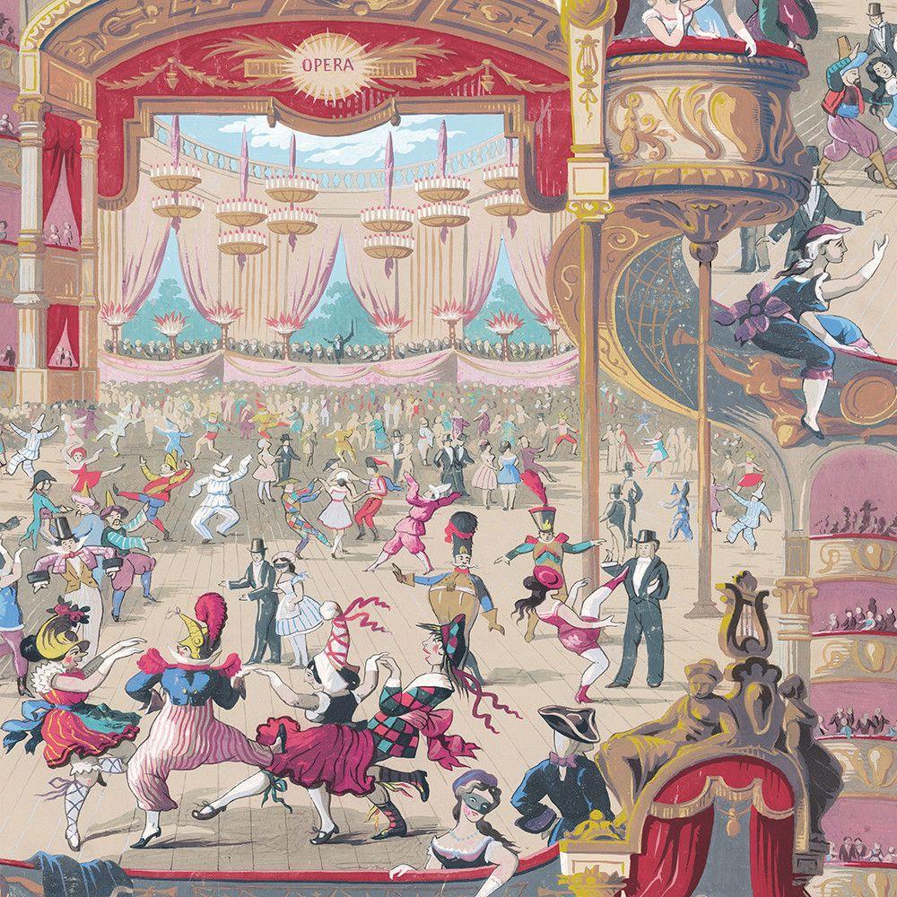 Discover the Cole & Son Cabaret Wallpaper - 103/7026 at Amara