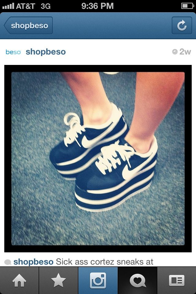 platform nike cortez?   Nike cortez