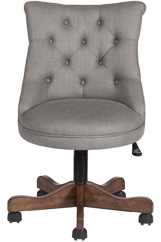 Rebecca Office Chair   Upholstered Office Chair   Rolling Desk Chair |  HomeDecorators.com #DeskChair