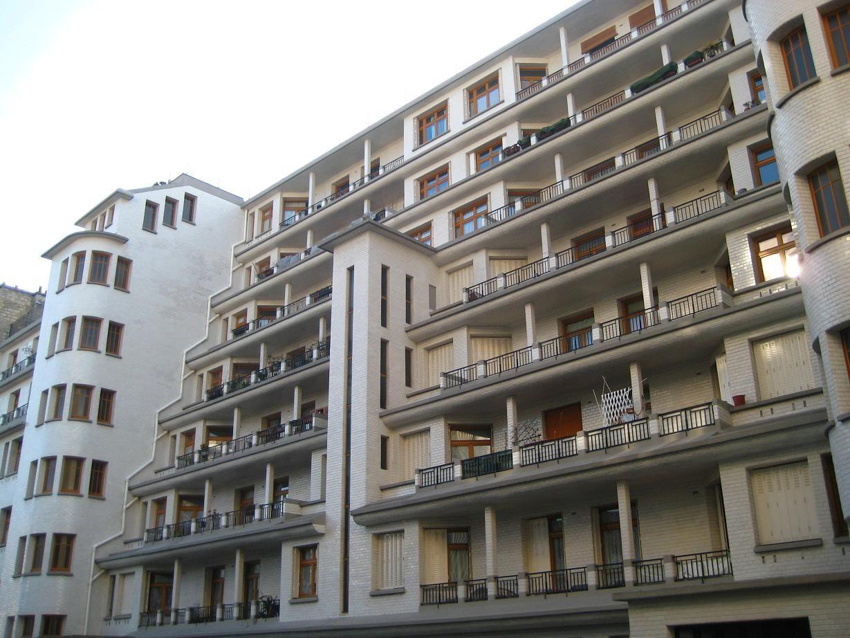 Fr Paris Rue Des Amiraux Architect Henri Sauvage 1927 Towards