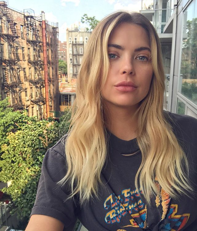Ashley Benson Just Got Insanely Pretty Hair Extensions Celebs With