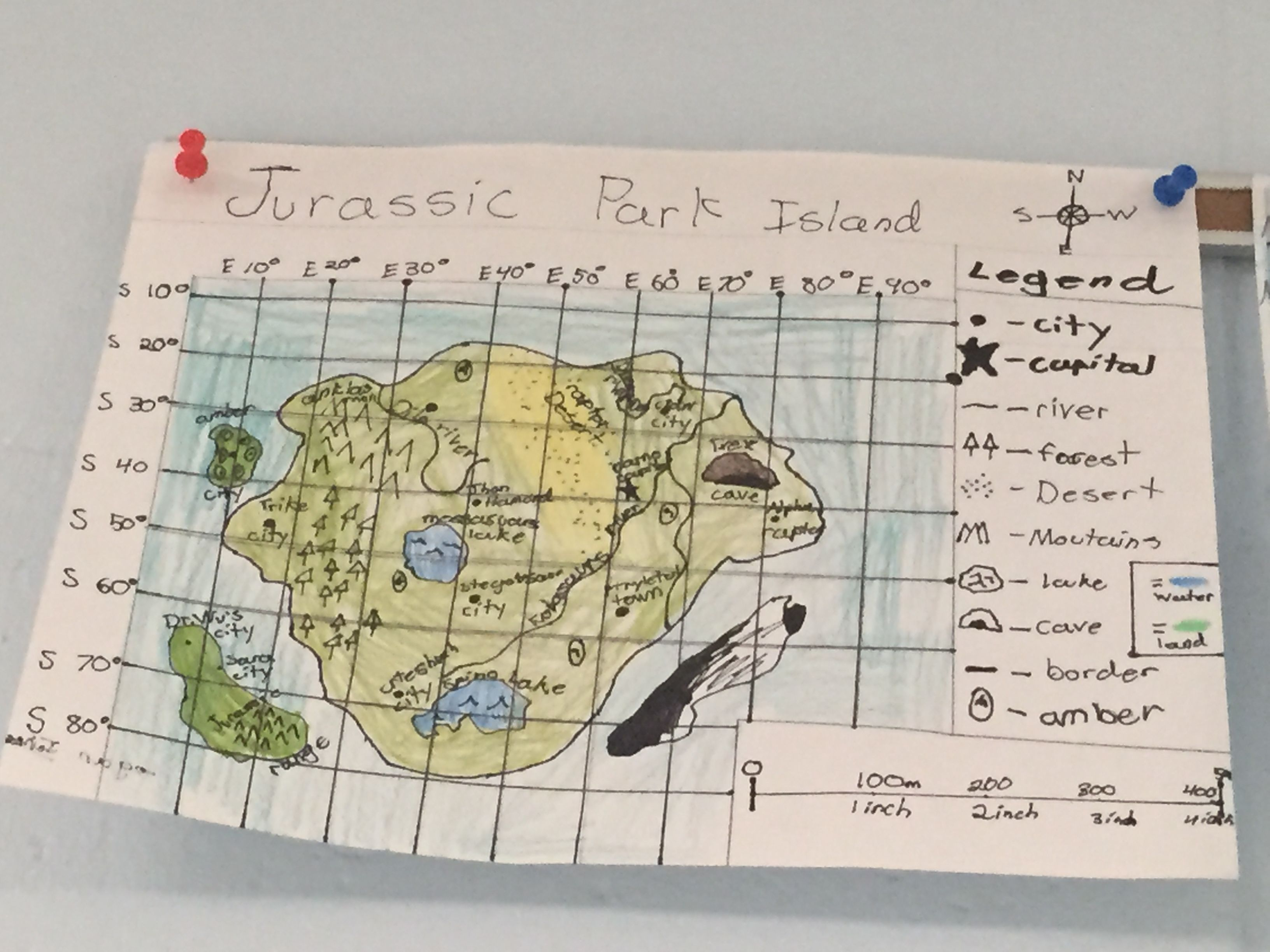 Mythical Country Map Project