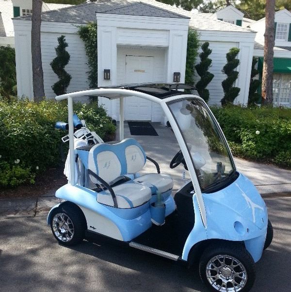 Michael Jordan S Golf Cart Rivals Bubba Watson S Hovercraft For