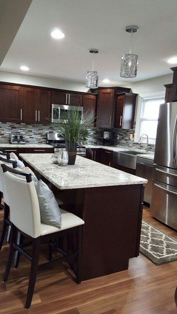 Find dark kitchen cabinets with oil rubbed bronze hardware ...