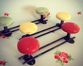 1 Atomic french coat hanger / rack / hook (choice of 3 colors)