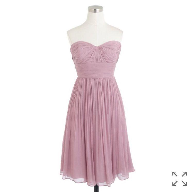 J Crew Marbella Silk Chiffon Dress | Pinterest