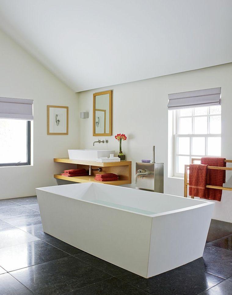Piedra natural en el baño - 7 opciones originales -   Casa ...