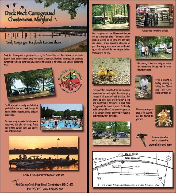 Duck Neck Campground Camping spots, Campground, Family