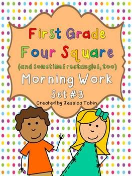First Grade Morning Work- 3rd Quarter | education | Morning