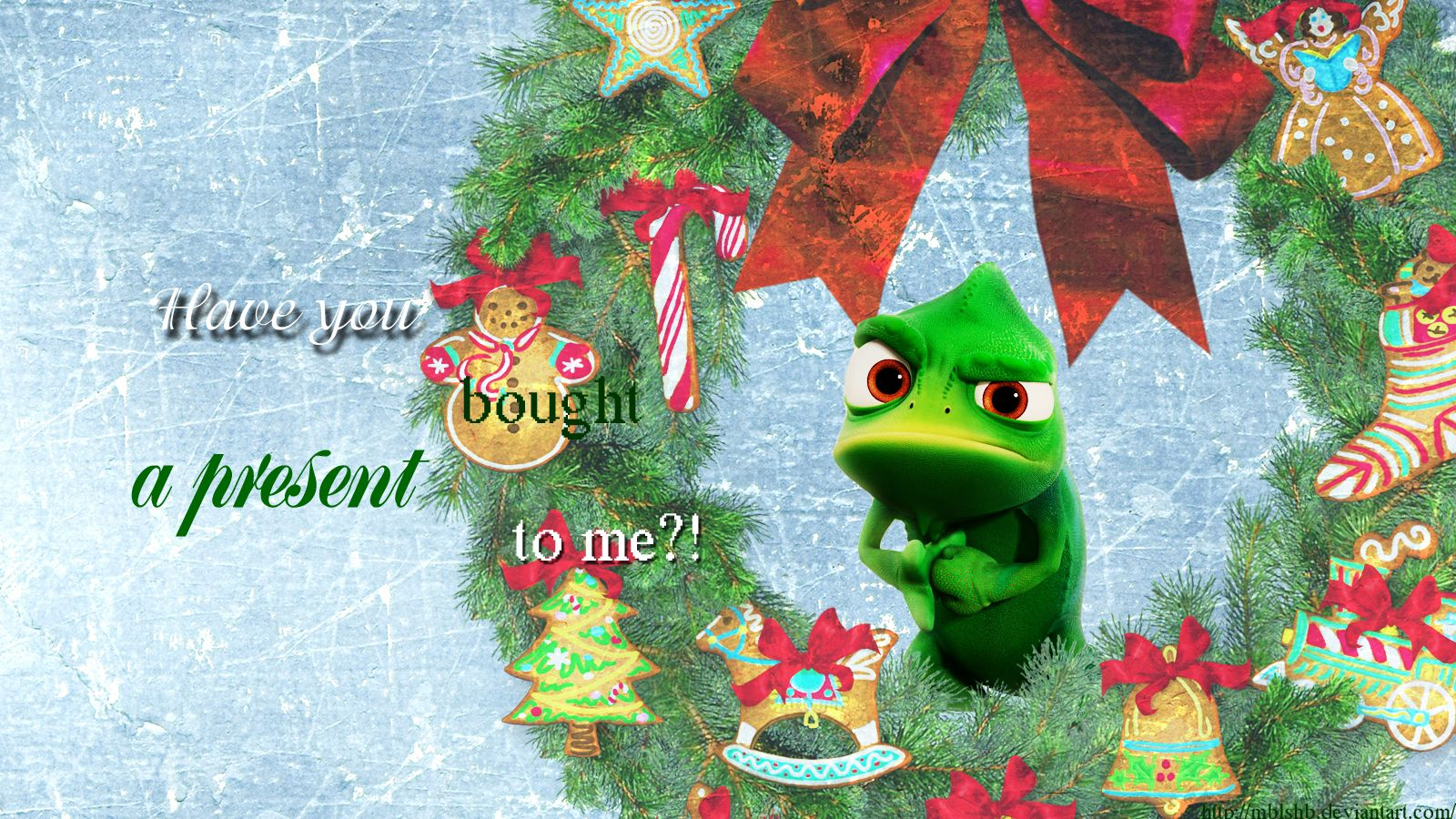 disney christmas wallpaper merry christmas with pascal wallpapers for disney tangled wallpaper
