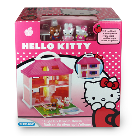 hello kitty light up dream house tsddphk030014 rs 1 the online toys. Black Bedroom Furniture Sets. Home Design Ideas